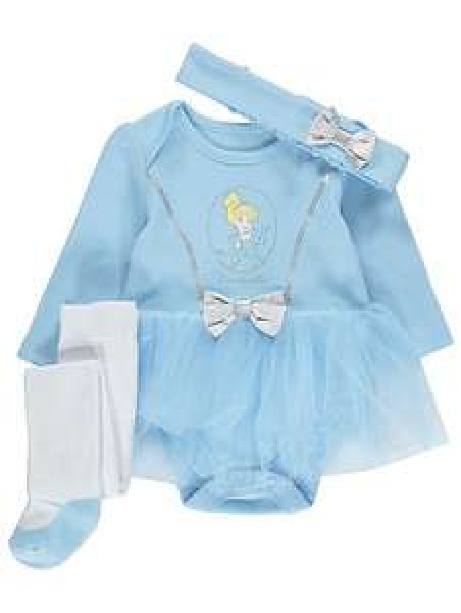 Disney Princess 3 piece tutu set \ Snow White\ Tinkerbell \ Rapunzel \ Jasmine @ Asda C+C