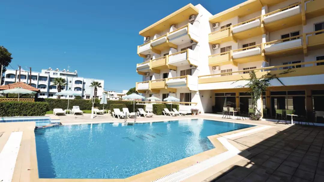 Trianta Hotel Apartments IALYSSOS, RHODES, GREECE   £163pp  6/6/18  SC @ Tui