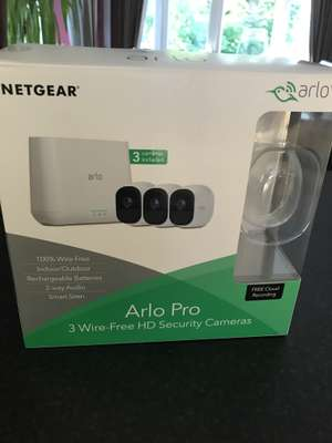 Netgear Arlo Pro 3 wire free security camera - £479.98 instore @ Costco