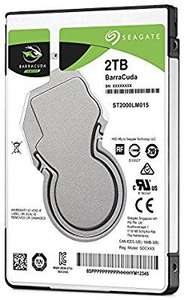 Seagate BarraCuda 2 TB 2.5 Inch Internal Hard Drive (7 mm Form Factor, 128 MB Cache SATA 6 GB/s Up to 140 MB/s) - £62.61 @ Amazon *Dropped another pound from yesterday and no longer prime exclusive*