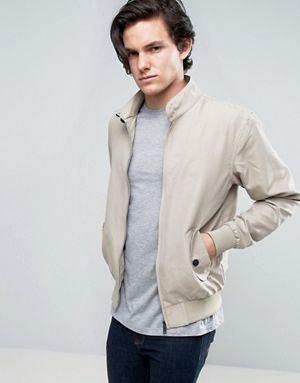 Brave Soul Summer Harrington Lined Jacket 70% OFF @Asos.com