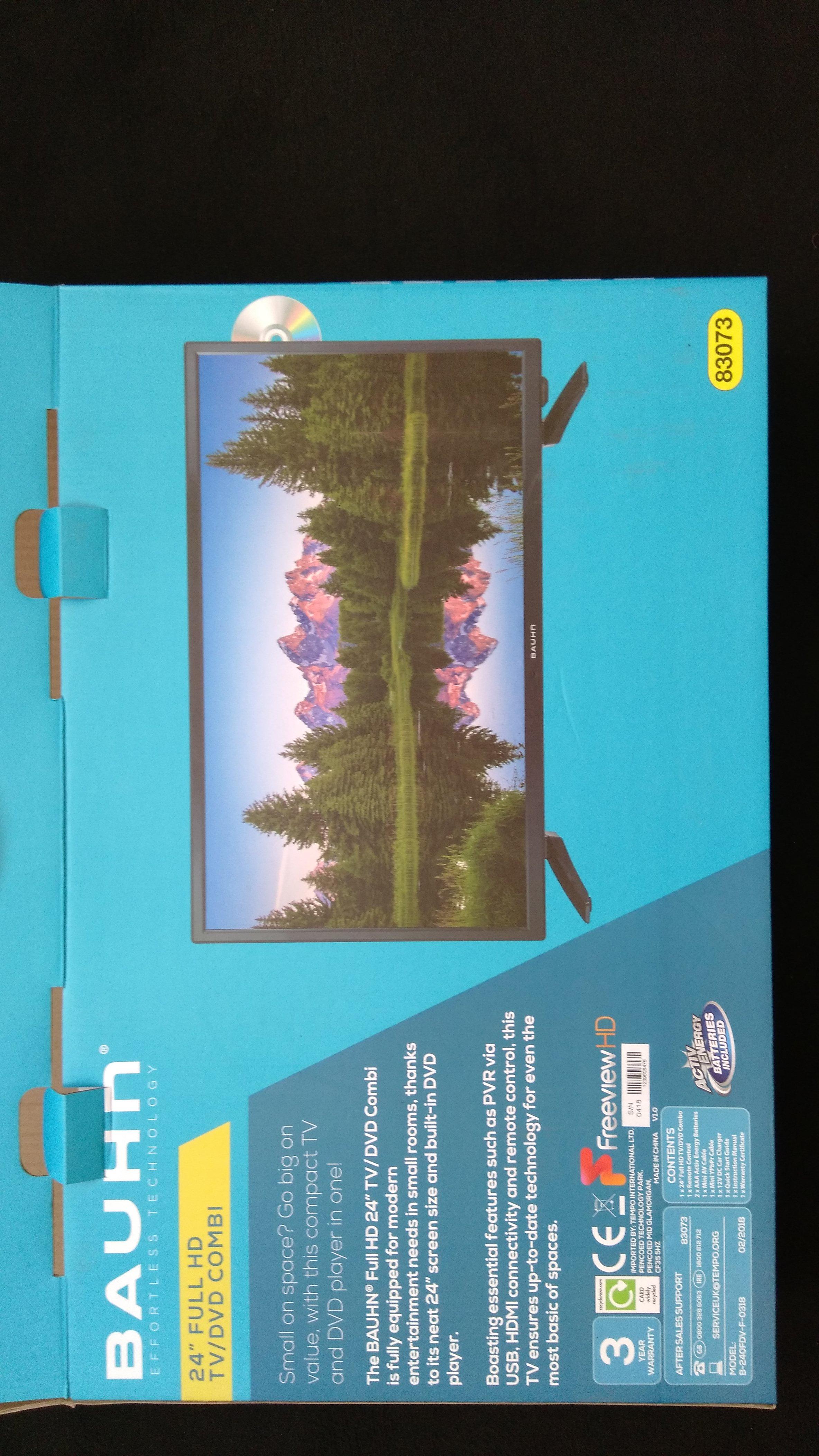 "Aldi stores 24"" TV/DVD/USB etc - £59.99 (found instore - Cheadle Heath)"