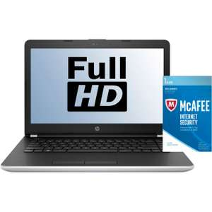 "HP 14"" FHD Laptop i5-8250U 4GB 256SSD (+£50 Cashback) @ AO for £449"
