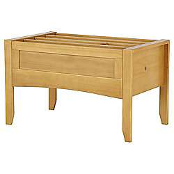 Harvey Solid Pine Book Box Natural Finish (children's bedroom) £29.50 & Tesco Direct (free C&C)
