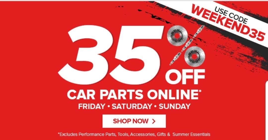 35% off car parts online @ euro car parts