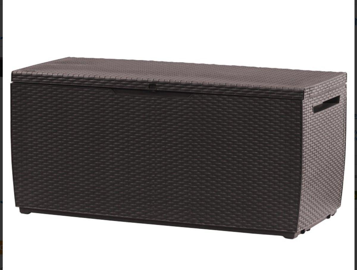 Keter Capri 305l rattan effect garden storage box £44.99 @ B&M