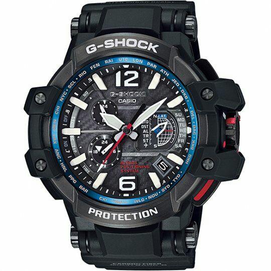 Casio Premium G-Shock Gravitymaster GPS Hybrid Radio Controlled Solar Powered Watch  GPW1000-1AER £426.60 with code @ The watch hut