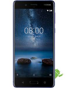 Nokia 8 Glossy Blue 128gb Version Carphone Warehouse with a Virgin SIM (possible £25 Topcashback also)