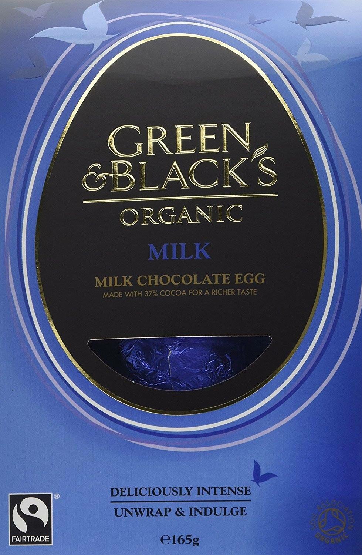 Green & Blacks organic milk chocolate egg (pack of 4) £5.46 @ Amazon - Add on item