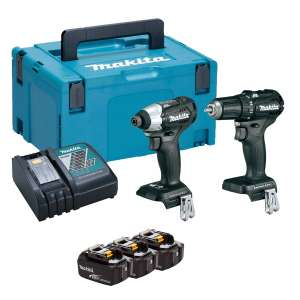 MAKITA DLX2221BJ 18V BRUSHLESS 2 PIECE KIT £189.95 @ Fast fix