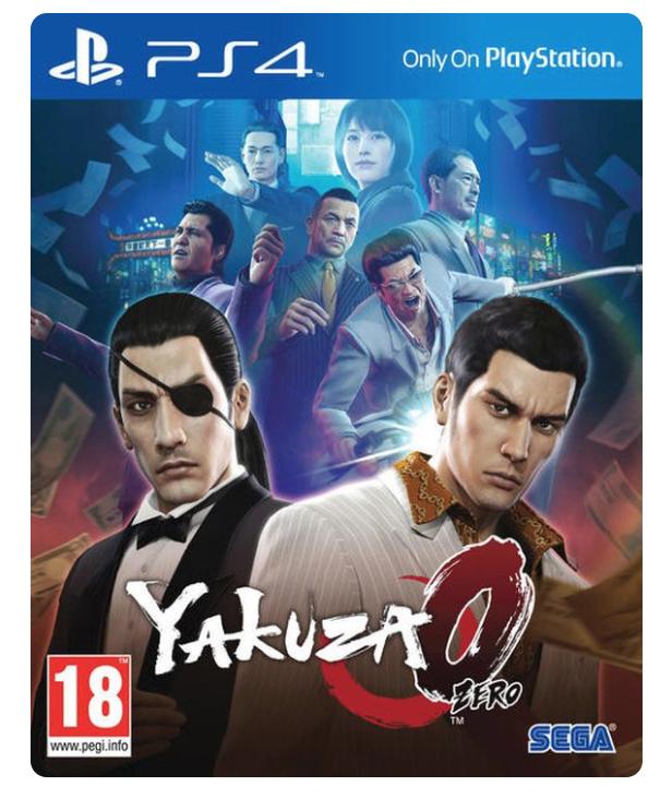 Yakuza 0 [PS4] £17.99 @ Coolshop