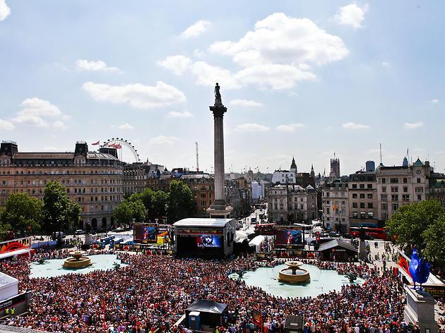 Free Live popular theatre shows in  Trafalgar  Square 16/17 JUNE