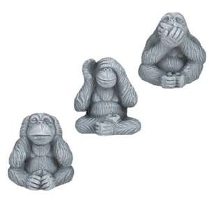 Wise Apes Ornament instore at Poundland £1