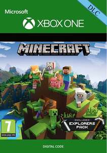 Minecraft Explorers Pack Xbox One DLC £1.41 (£1.49 withou FB Code) @ CDKeys
