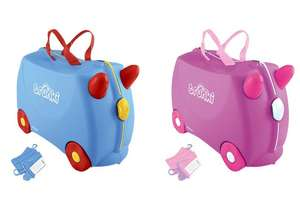 Trunki Jack & Jill Ride On Suitcases now £17.49 @ Tesco Direct (+5 Year Warranty +Free C&C)