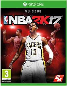 (Xbox One - Preowned) NBA 2K17 £3.19 delivered @ Music Magpie
