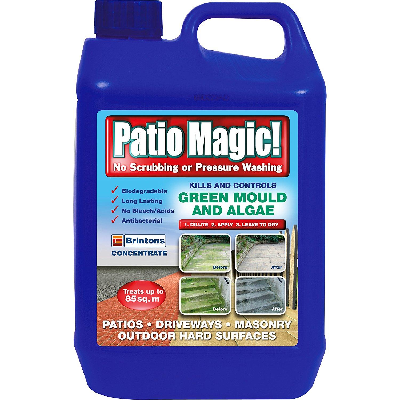 Patio Magic! Green Mould and Algae Killer Liquid Concentrate Bottle, 2.5 L - £6.75  (Prime) / £11.24 (non Prime) at Amazon