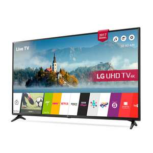 "LG 55UK630V 55"" 4K Ultra HD HDR Smart TV  £439 (w/ code) at PRC Direct"