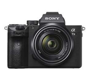 Sony A7iii (A7 m3)  Full Frame Mirrorless Compact System Camera WITH SEL2870 Lens Kit £1963.75 - Amazon - Temp oos