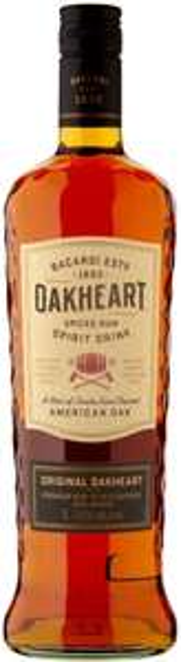 Bacardi Oakheart Smooth & Spiced Spirit Drink Spiced Rum 1 litre - £16 Asda