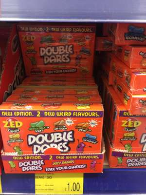 Zed Candy Double Dares Jelly beans 150g £1 at B&M