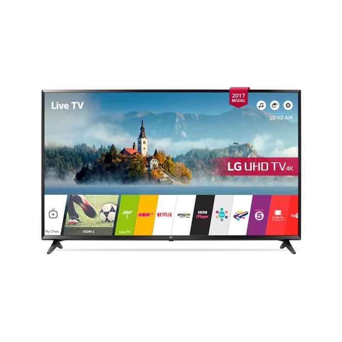 LG 55UJ630V 55 inch 4K Ultra HD HDR Smart LED TV £429 (with Code) @ RGB Direct