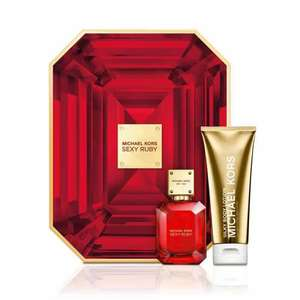 Michael Kors Sexy Ruby 50ml EDP Gift Set £40 delivered at The Fragrance Shop