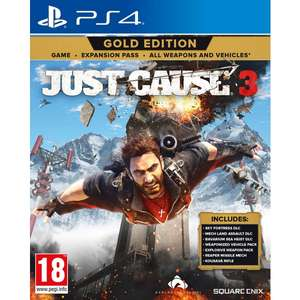 Just Cause 3 Gold Edition - PS4 (click and collect) £12.99 @ Smyths