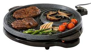 RRP £69.99 JML Grill Circle: The indoor non-stick grill with dual cooking zones £22.94 delivered @ Amazon / Dispatched from and sold by JML Direct.