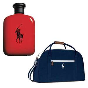 125ml Ralph Lauren Polo Red EDT [For men) + Free Polo Duffle Bag and Free sample - £39.99 delivered @ The Perfume Shop