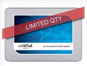 Crucial BX300 120GB SATA 2.5-inch 7mm (with 9.5mm adapter) Internal SSD * Free Shipping *