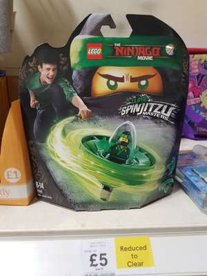 LEGO Spinjitzu reduced to £5 in store Tesco Hinckley