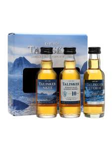 Talisker miniature whisky gift set (3x 5cl) £6.55 Tesco Express Downley, High Wycombe