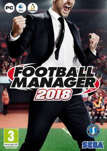 Football Manager 2018 PC £15.19 with FB code @ CDKeys