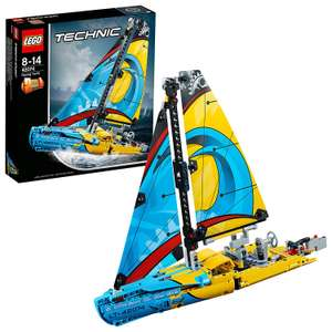 LEGO UK 42074 Technic Racing Yacht Advanced Building Set £17.49 Prime £21.98 Non Prime @ Amazon - lightning deal