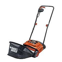 BLACK+DECKER GD300-GB 600W Electric Lawn Raker £40 Tesco