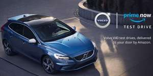 Free Volvo V40 45 Min Test Drive from your door @ Amazon Prime