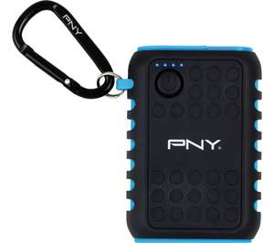 PNY Outdoor Charger Portable Power Bank 7800 mAh with built-in Flashlight - Black & Blue only £4.97 @ Currys instore