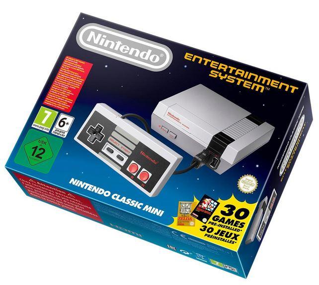 Nes mini classic £49.99 (Pre Order) @ Very