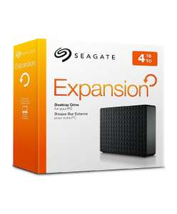 Seagate Expansion 4TB usb 3 / pc / Xbox/ PlayStation £77.98 used good/ £88.61 new @ Amazon Warehouse