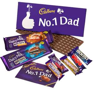 Cadburys Dad's Chocolate Hamper £23.80 amazon sold by Cadbury Gifts Direct