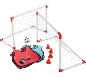 Chad Valley Football Skills Set (inc two goals, six bibs, armband, cones, trophy ) now £19.99 each or 2 for £30 @ Argos