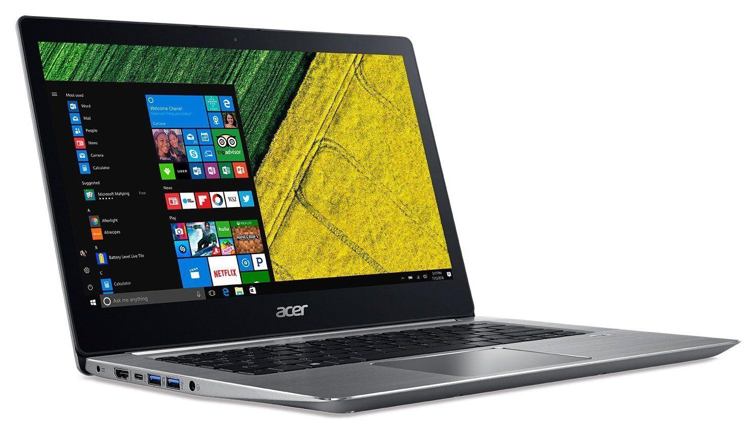 "Acer 14"" Swift 3 SF314-51 Laptop - Intel Core i3, 8GB RAM, 128GB SSD, Ful-HD IPS, Aluminium Casing, Fingerprint Reader, USB Type-C (Refurbished) £307.99 @ Argos Ebay"