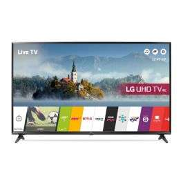 LG 55UJ630V 55 inch 4K Ultra HD HDR Smart LED TV Freeview Play £474 @ Richer Sounds