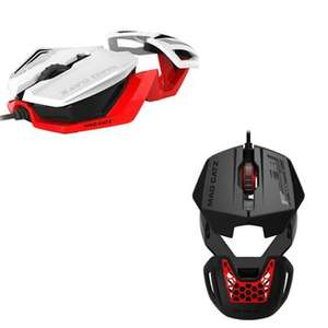 Mad Catz RAT1 Mouse - Black or White £2.79 each C&C only @ Currys