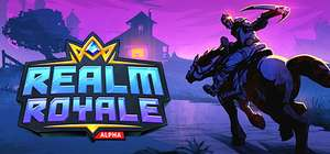 Early Access and Free to Play Realm Royale @ Steam