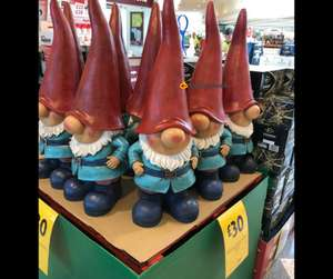 Life size garden Gnomes only £30 @ Morrisons
