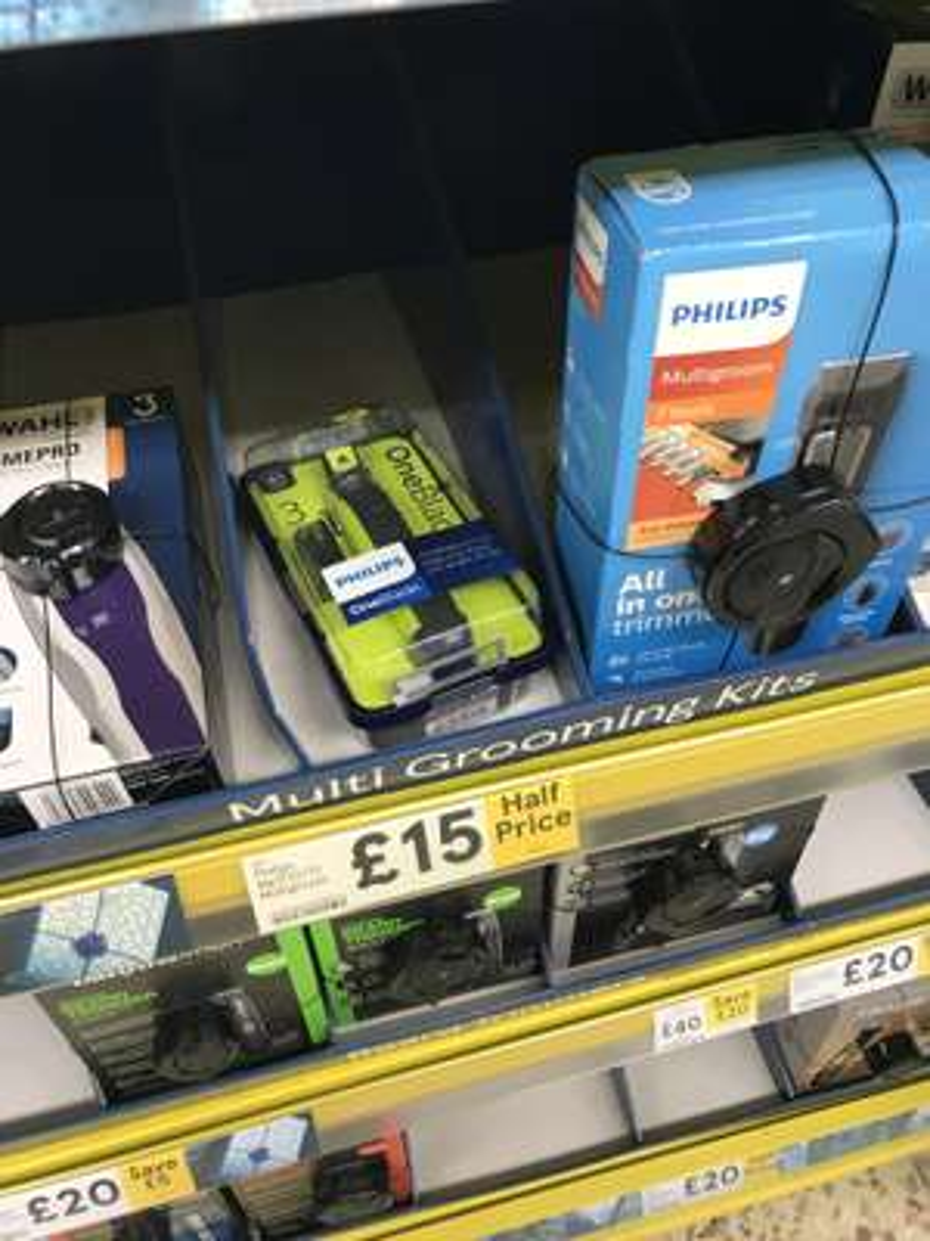 Philips OneBlade for £15 @ Tesco