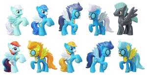 My Little Pony Cloudsdale Mini Figure 10 Pack Collection £4.99 Delivered @ Argos eBay