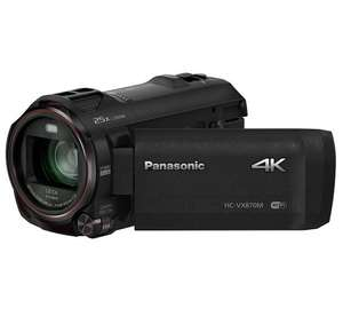 Panasonic HC-VX870 4K 30p/25p Camcorder with Wireless Twin Camera £347.95 @ Magic Vision